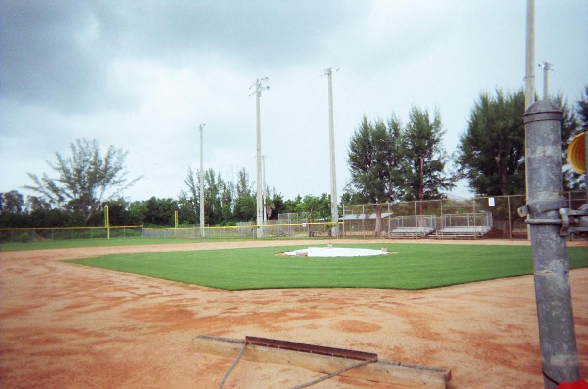 Chapman Park – Baseball Clay Infield Conversion to Grass ...